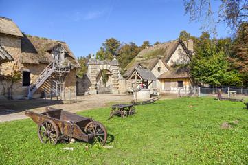 Farmhouse at Marie Antoinette's hamlet at Versailles
