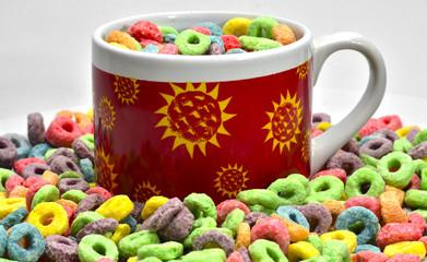 Desayuno con cerales