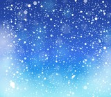 Fototapety Snow theme background 3