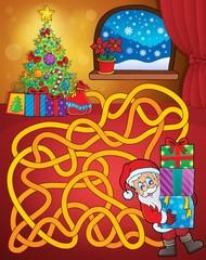 Maze 21 with Christmas theme