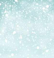 Snow theme background 2