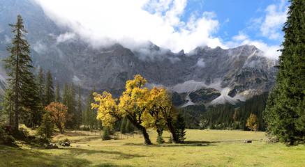 Panorama Kleiner Ahornboden im Karwendel