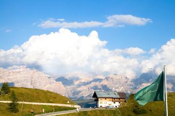 Grödnerjoch - Dolomiten - Alpen