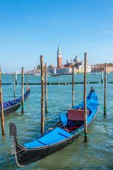 Gondola with San Giorgio Maggiore island