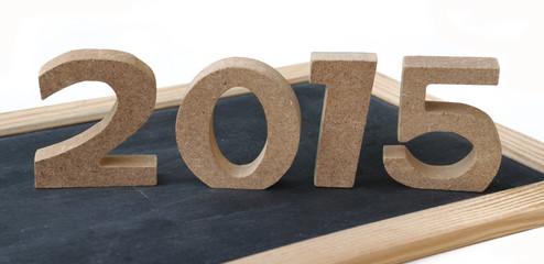 2015 sur ardoise