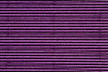 Bright purple striped surface, close up