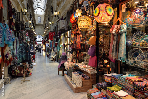 Plexiglas Midden Oosten Grand Bazaar / Kapalıçarşı, Istanbul, Turkey.