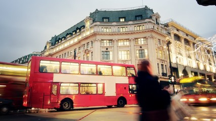 OXFORD STREET LONDON TIMELAPSE