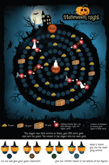 Board game - Halloween night