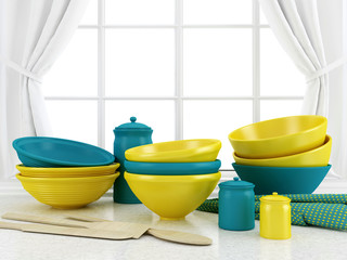 Ceramic kitchenware.