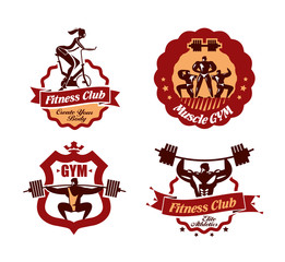 Gym. Vector format