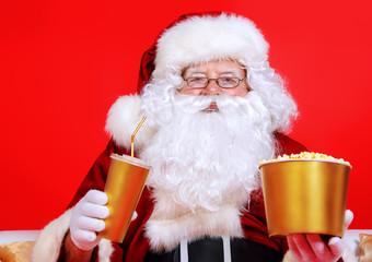 popcorn santas