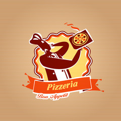 Pizza Delivery. Vector format