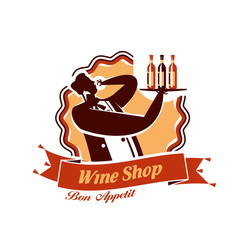 Wine Shop. Vector format