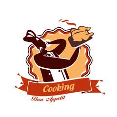 Cooking. Vector format