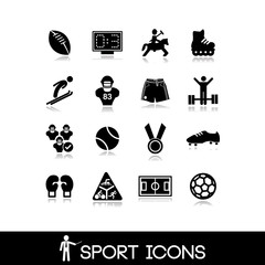 Icon sports and games - Set 1