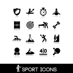 Icon sports and games - Set 4