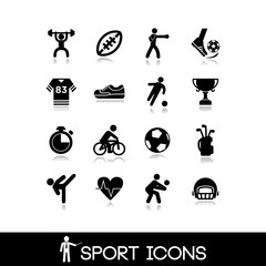 Icon sports and games - Set 6