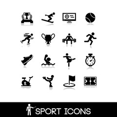 Icon sports and games - Set 7