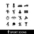 Постер, плакат: Icon sports and games Set 13