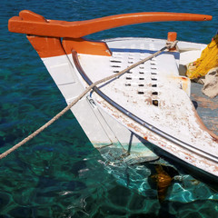 traditional Greek fishing boat, caique