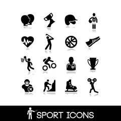 Icon sports and games - Set 15