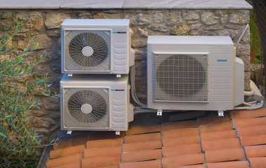 Heating and air conditioning inverters, heat pumps