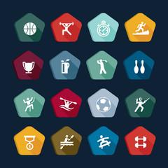 Symbols sport - Vectors set 2