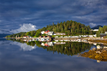 Norway - Fjord reflection