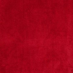 Background of red terry towels.