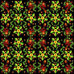Seamless russian pattern.