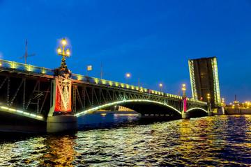 Bridge Petersburg, Russia