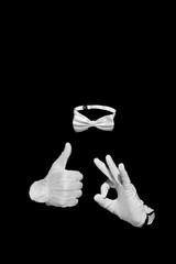 Invisible man figure
