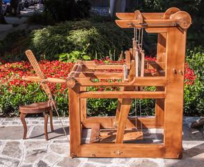 Old-fashioned loom