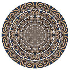 Illusion optique - motif vecteurs 4