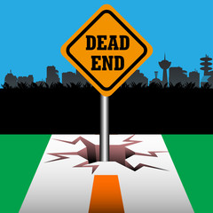 Dead end plate