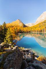 Saoseo lake - Swiss