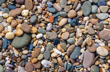 Great Colorful stones background.
