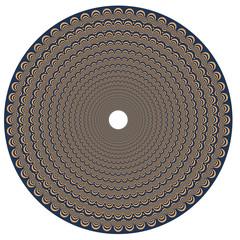 Illusion optique - motif vecteurs 3