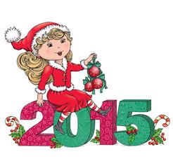 Santa Girl 2015