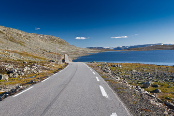 Norway - mountain road
