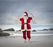 Santa is on vacation