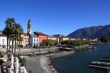 Beautiful view of Ascona, Switzerland