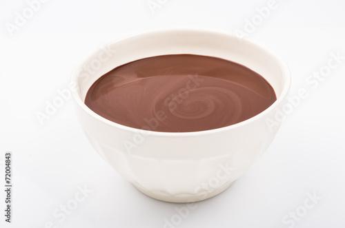 canvas print picture chocolat chaud