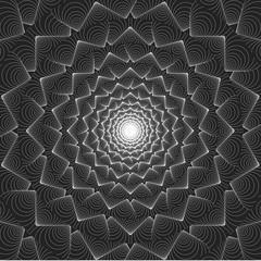 Illusion optique - motif vecteurs 6
