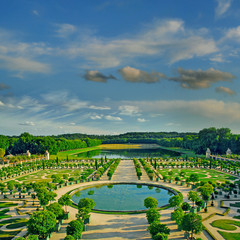 Gardens of Versailles Palace, France, UNESCO World Heritage Site