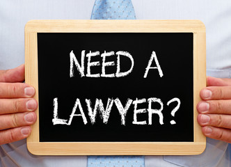 Need a Lawyer ?