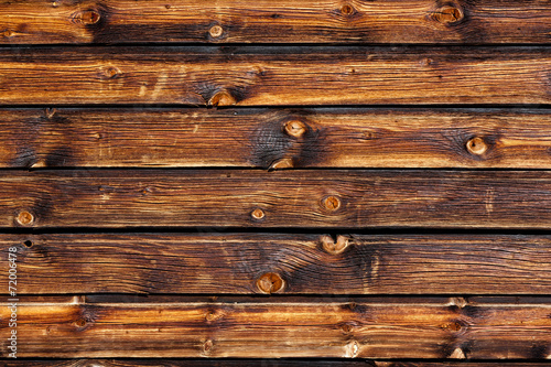 canvas print picture Rustikale Holzwand