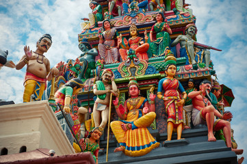 Sri Mariamman Temple, Singapore's oldest Hindu temple