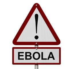 Ebola Caution Sign